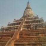 Bagan - Shwesandaw sunset temple 2