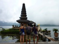 Bali travel - Bedugul water temple portrait