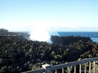 Bali travel - Nusa Dua sea spray 3
