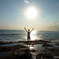 Bali travel - Tannah Lot sun 2