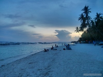 Bohol - Panglao beach sunset