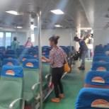 Bohol - boat passenger seats