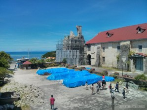 Bohol tour - Baclayon church 2
