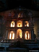 Bohol tour - Baclayon church inside 1