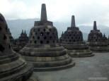Borobudur - stupas 1