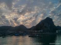 Cat Ba - sunset over bay 7