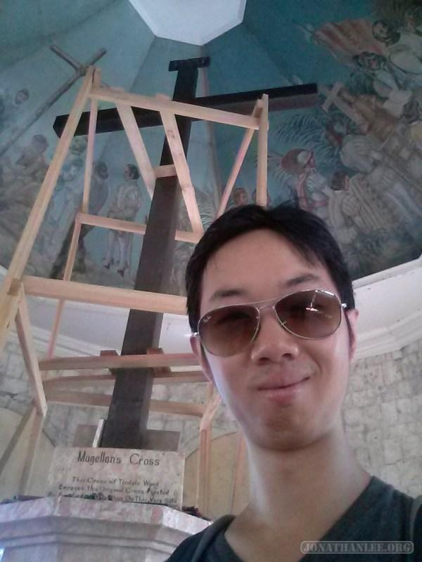 Cebu - Magellan's cross portrait