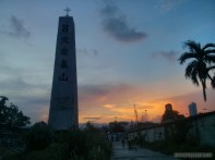 Cebu - Queen city memorial gardens sunset 2