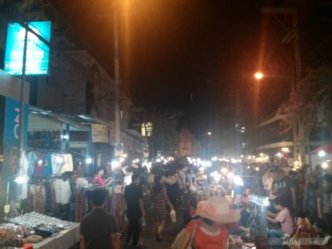 Chiang Mai - Sunday walking market 4