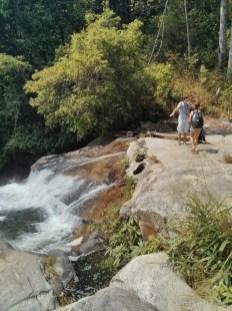 Chiang Mai trekking - day 2 waterfall 1