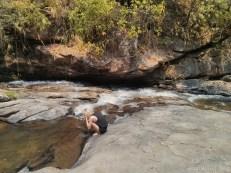 Chiang Mai trekking - day 2 waterfall 3 Helena