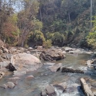 Chiang Mai trekking - day 3 waterfall 1 - 1