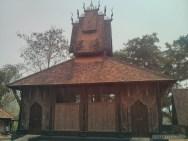 Chiang Rai - black house building 3