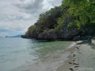 El Nido - kayaking beach 3