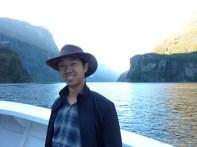 Fiordlands - bay scenery portrait