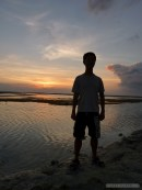 Gili Trawangan - sunset portrait