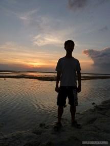 Gili Trawangan - sunset portrait