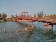 Hoi An - biking bridge