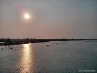 Hoi An - biking river sunset 1