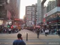 Hong Kong - Kowloon popular street