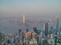 Hong Kong - Victoria peak view 4