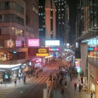 Hong Kong - central nightlife