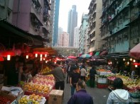 Hong Kong - local market