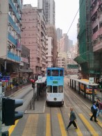 Hong Kong - trolley ride 1