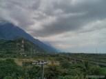 Hualien - coastline trail inland view