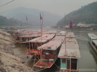 Huay Xai to Luang Prabang - Pakbeng boat pier