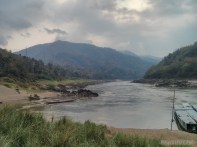 Huay Xai to Luang Prabang - Pakbeng morning view 5
