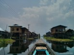 Inle Lake - boat tour floating village 3