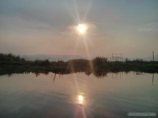 Inle Lake - sunset 1