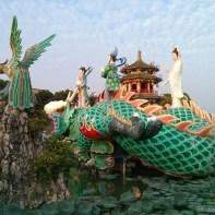 Kaohsiung - lotus pond riding on dragon spring autumn podoga