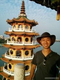Kaohsiung - lotus pond tiger tower portrait