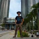 Kuala Lumpur - Patronas Towers portrait