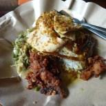Kuta Bali - nasi babi guling 1