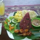 Kuta Bali - nasi camphur 1