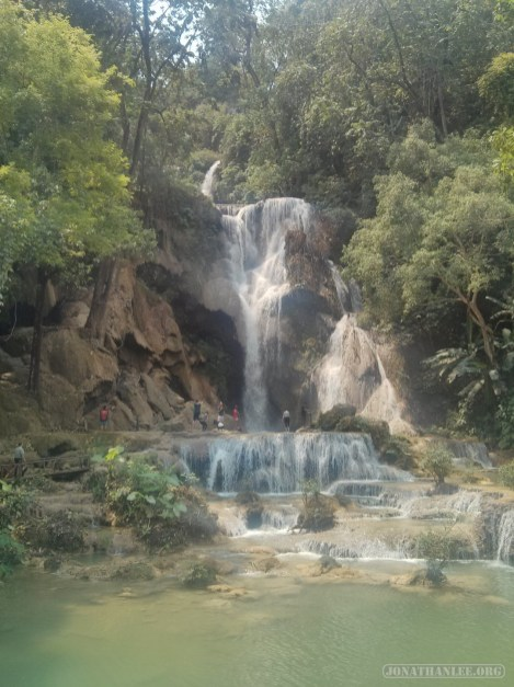 Luang Prabang - Kuang Si waterfall 14