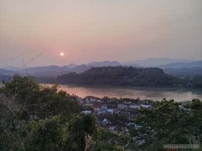 Luang Prabang - Mount Phousi sunset view 1