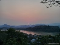 Luang Prabang - Mount Phousi sunset view 3