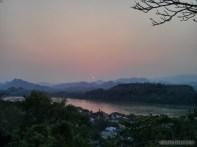 Luang Prabang - Mount Phousi sunset view 3