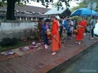 Luang Prabang - alms ceremony 2