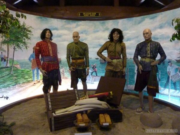 Malacca - Sultanate Museum Siamese Thai traders