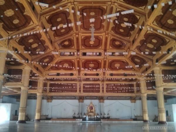 Mandalay - Atumashi Kyaung inside