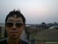Mandalay - U Bien Bridge portrait 2