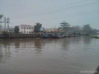 Mekong boat tour - fog town