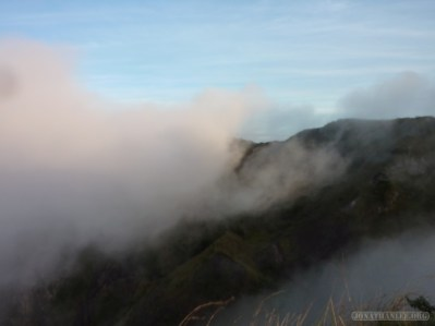 Mount Batur - mist scenery 1