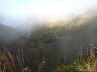 Mount Batur - mist scenery 2