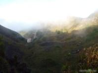Mount Batur - mist scenery 3
